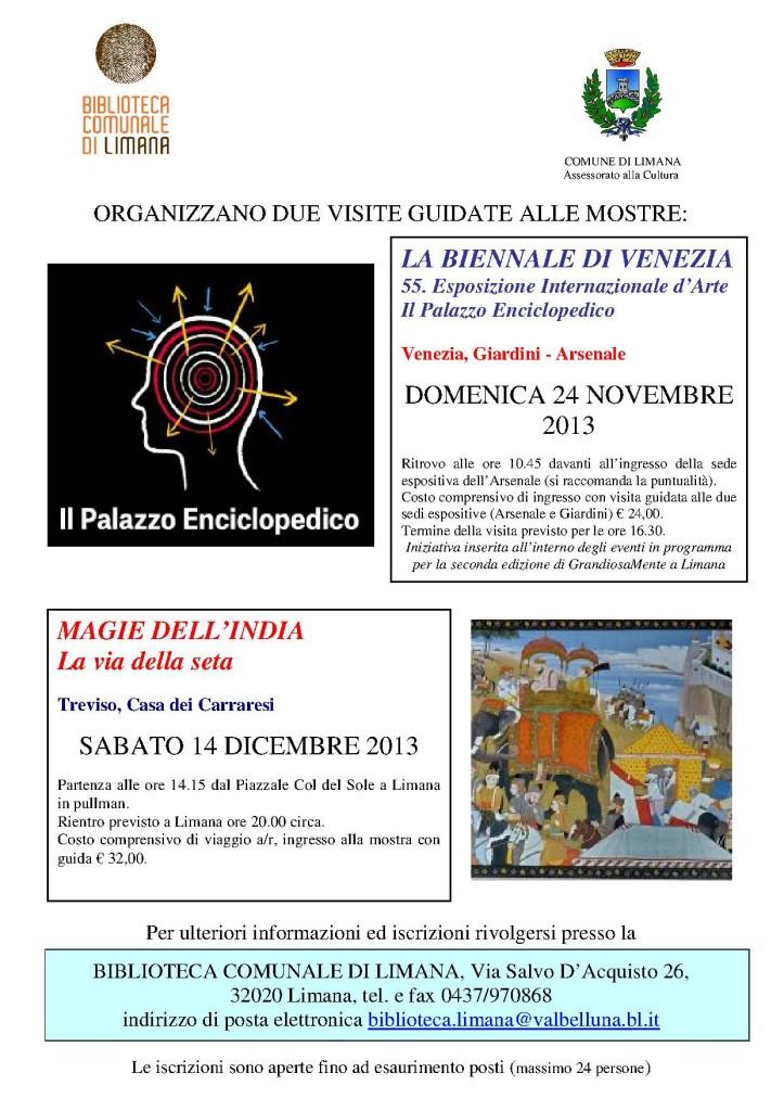 mostre a Venezia e Treviso 2013