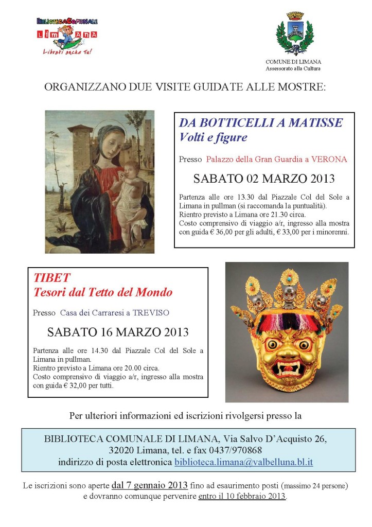 mostre a Verona e Treviso 2013
