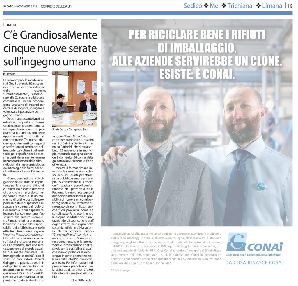 11 - 09 - Corriere delle Alpi
