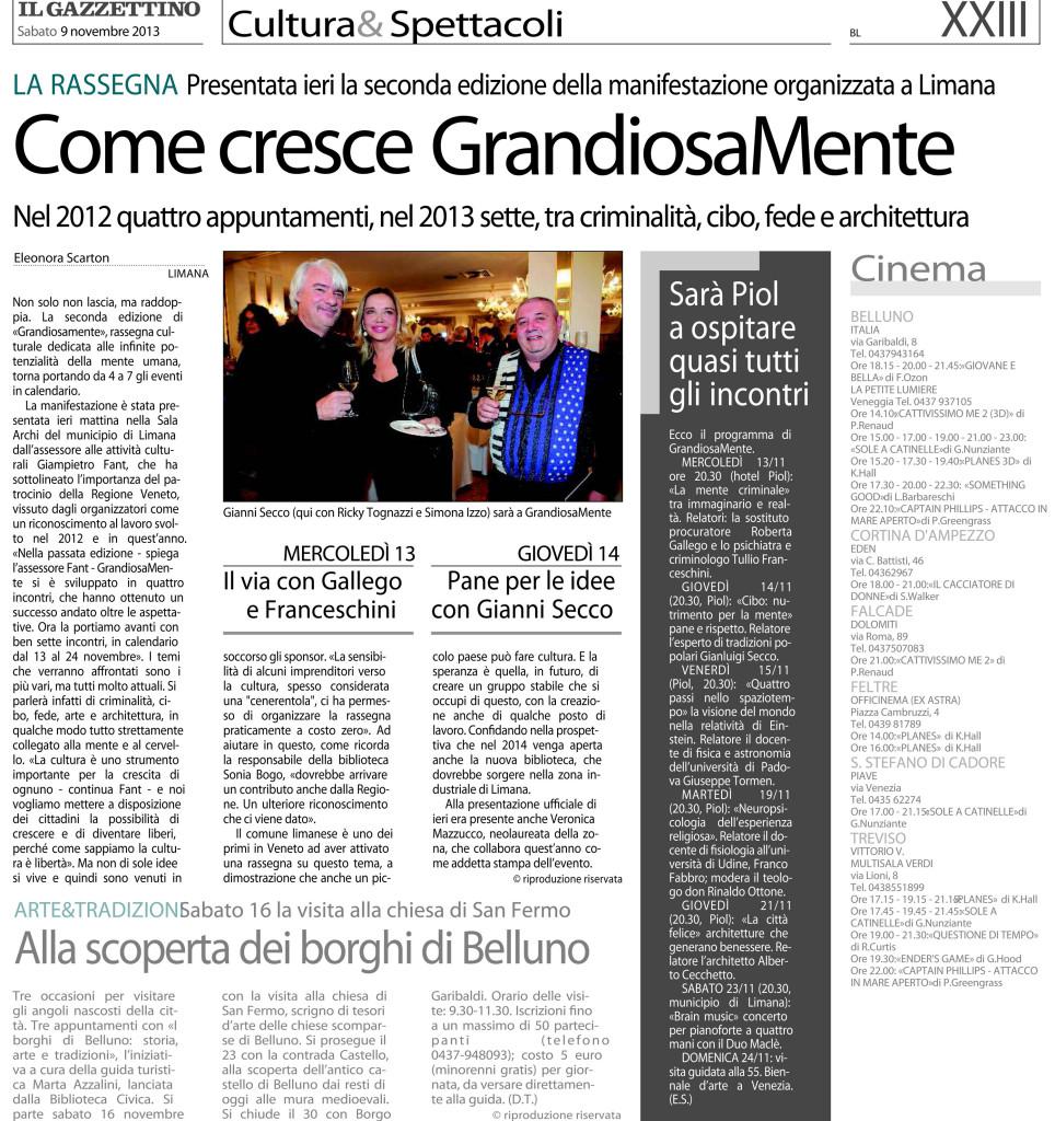 11 - 09 - Il Gazzettino