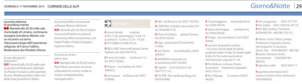 11 - 17 - Corriere delle Alpi
