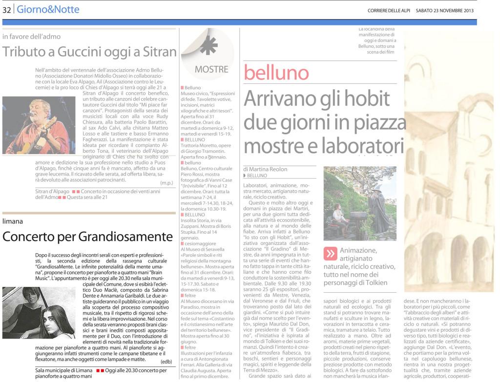 11 - 23 - Corriere delle Alpi