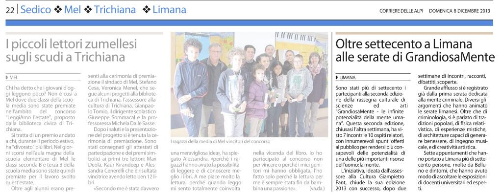 12 - 08 - Corriere delle Alpi