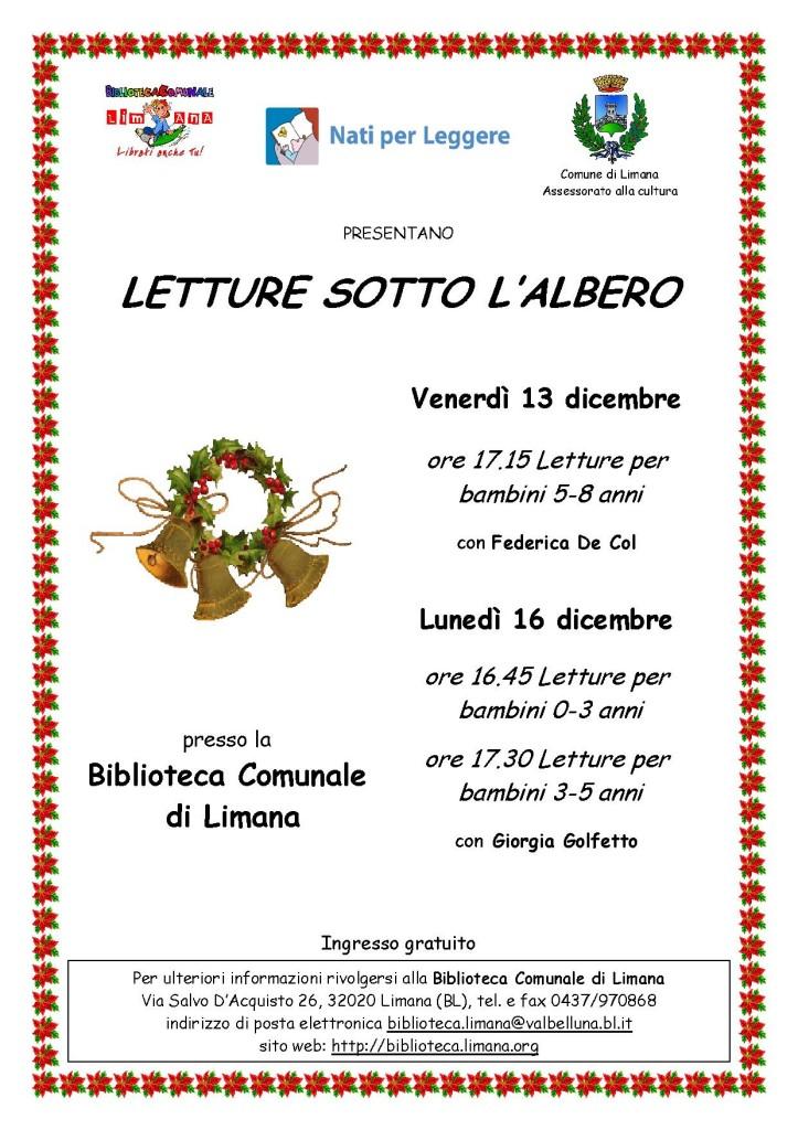 locandina 2 letture Natale 2013 0-8 anni