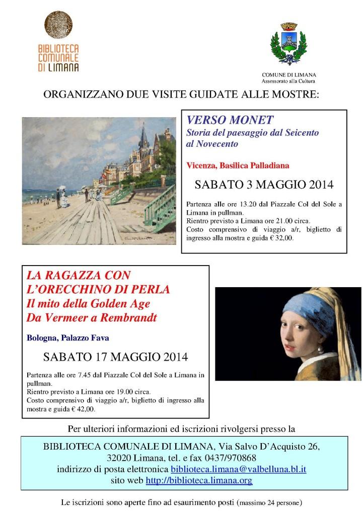 mostre a Vicenza e Bologna 2014