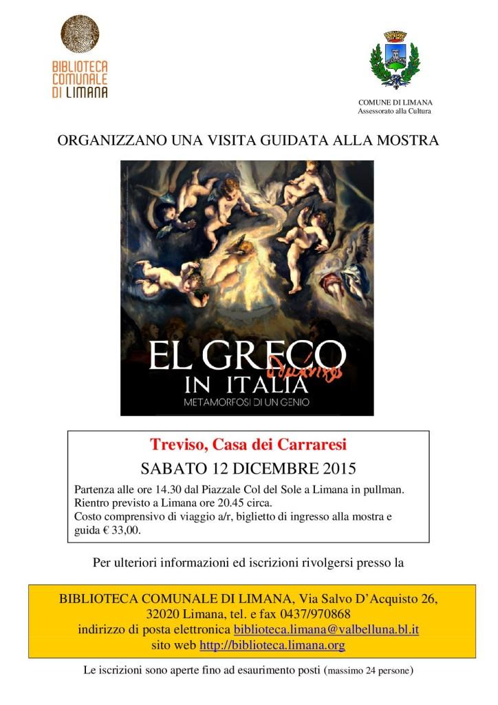 mostra El Greco 2015