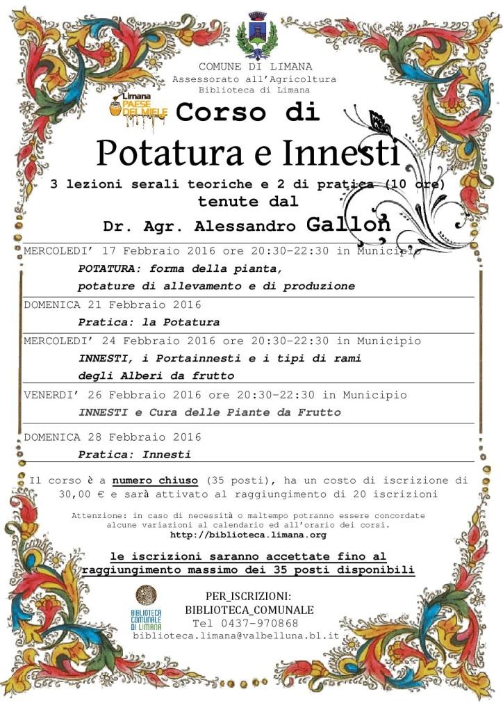 PotaturaInnesti Limana2016 - manifesto