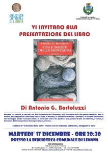 Manifesto presentazione libro Bortoluzzi